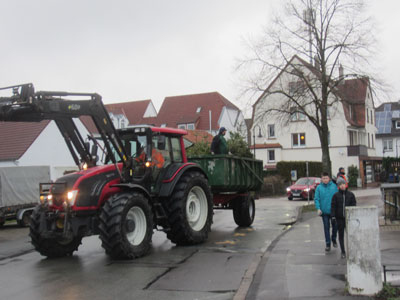 tannenbaumaktion in Bad Meinberg 2019